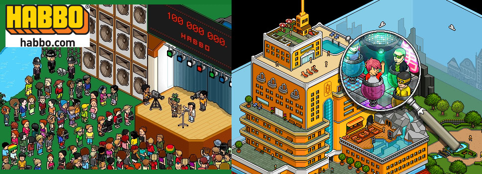 Habbo: free virtual worlds online