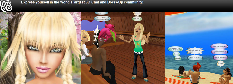 IMVU: free virtual worlds online