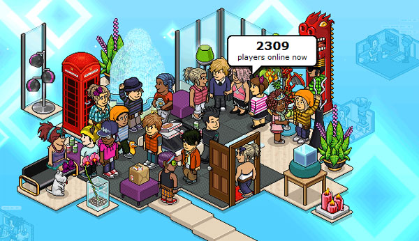 play Habbo game